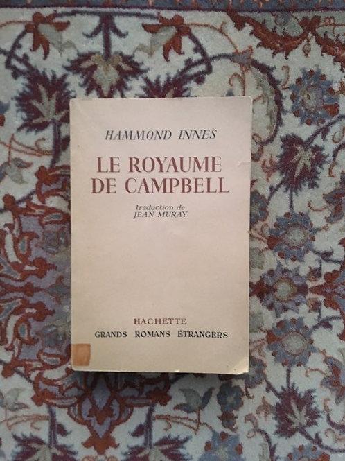 """INNES Hammond """"Le royaume de Campbell"""""""