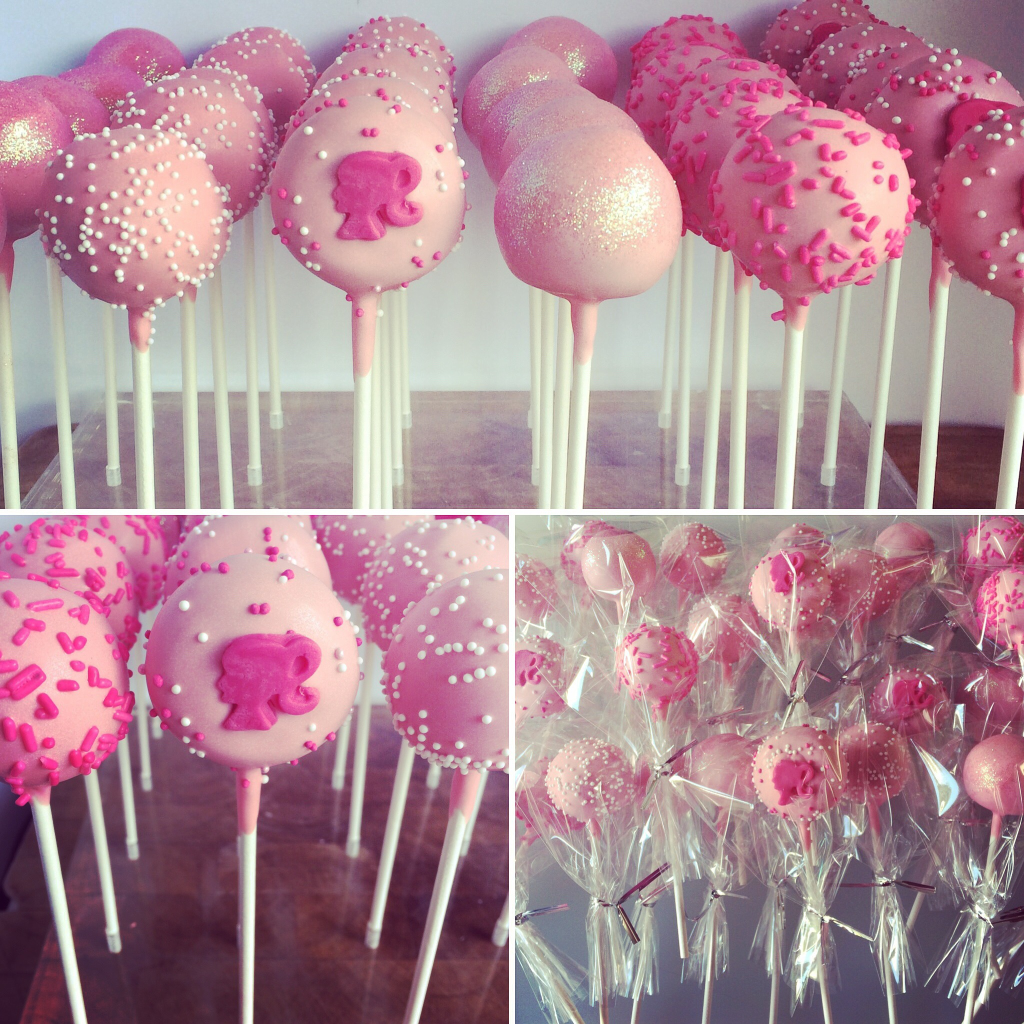 Barbie Themed Party Pops