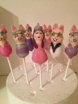 Princess Sammy and her disco bunnies