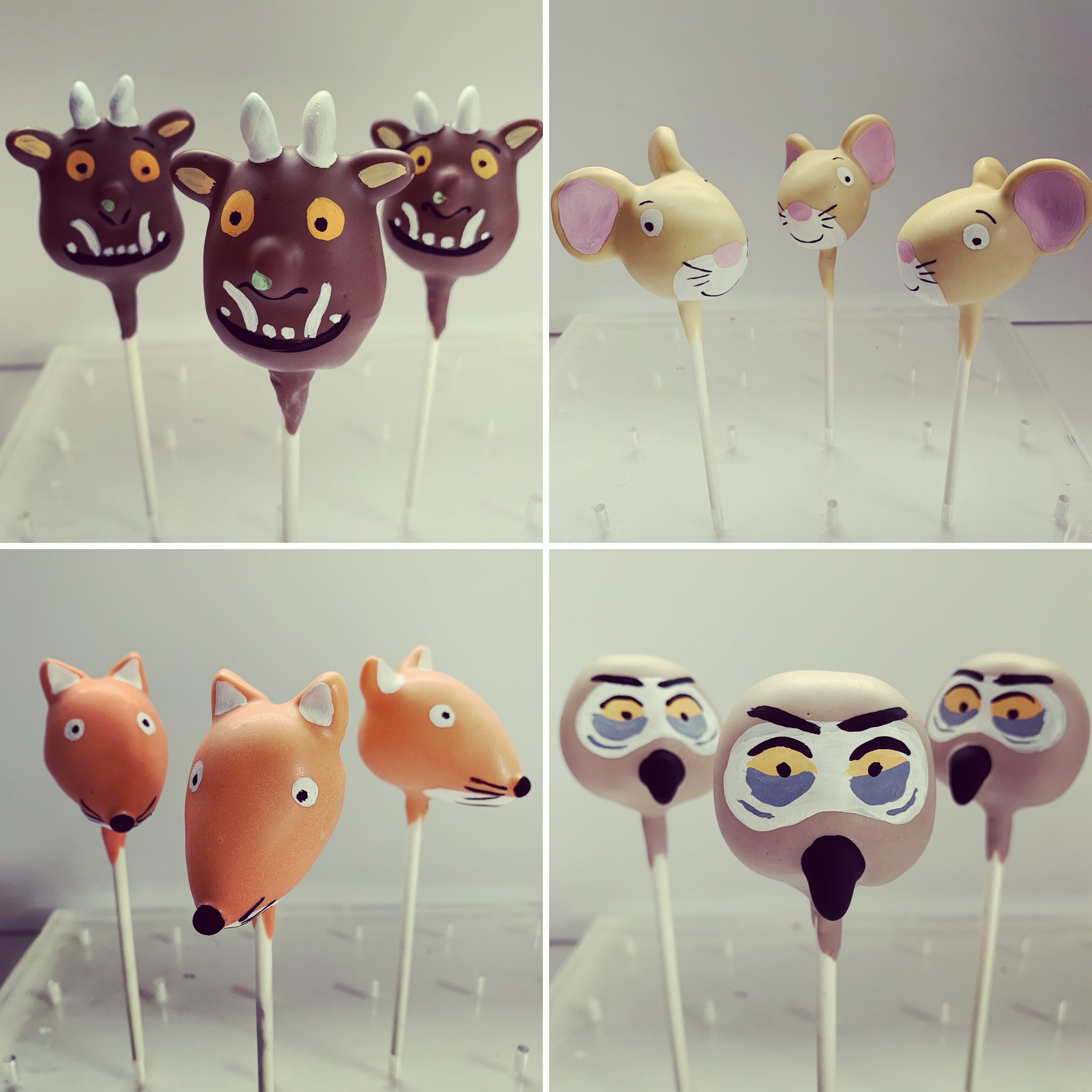 Gruffalo, Mouse, Fox and Owl