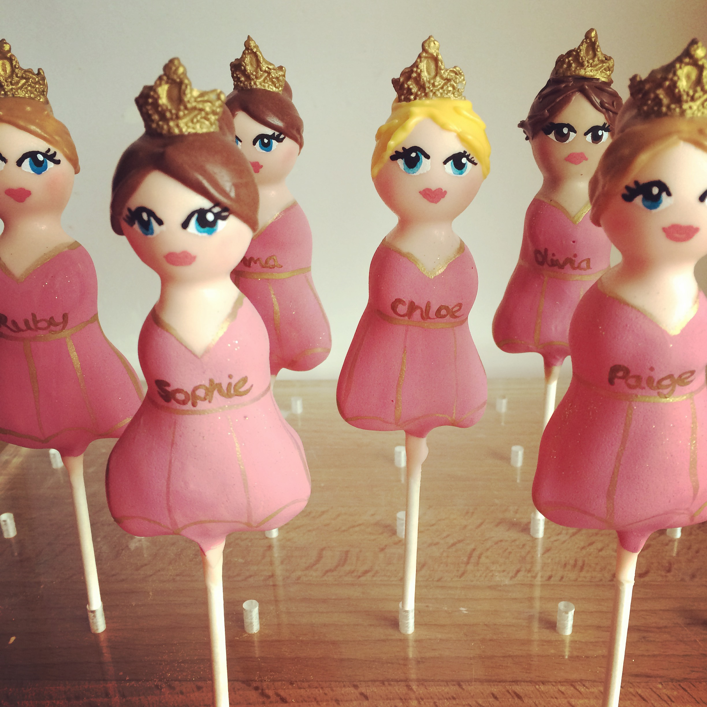 Personalised Princess Pops