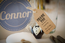 Stand alone Groom place setting