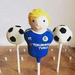 Personalised Chelsea fan