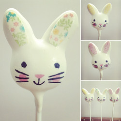 Cute Bunnies With Easter Print Ears