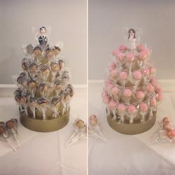 Bride and Groom Displays