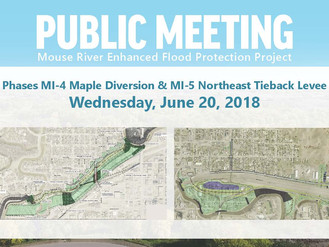 Mouse River Enhanced Flood Protection Project Public Meeting Announced