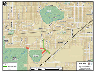 Mouse River Enhanced Flood Protection Project (MREFPP) MI-2/3 Napa Valley/Forest Road Phases Announc