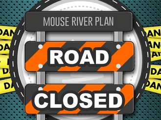 Mouse River Plan Phase BU-1B Burlington Levee Project to Temporarily Close Cherry Street