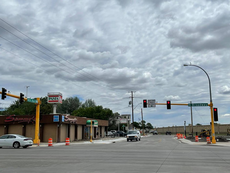 Re-opening of 4th Ave & Broadway