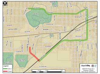 Mouse River Enhanced Flood Protection Project (MREFPP) Announces Temporary Roadway Impacts