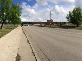 Minot's 16th Street Closed