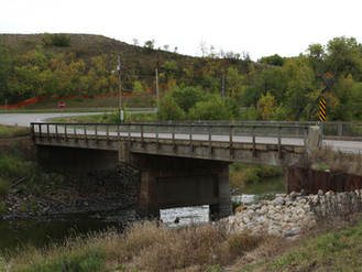 Mouse River Enhanced Flood Protection Project BU-1A Burlington Colton Avenue Bridge Replacement Proj