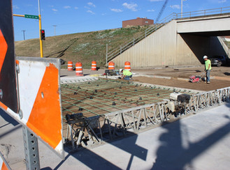 Water Treatment Plant construction reaches milestone with embeds going into roadway at 16th Street S