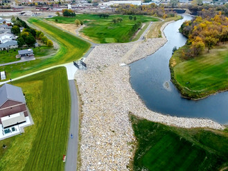 Two phases of flood protection project win national award