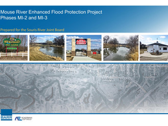 Low bids received for Mouse River Plan Phases 2 & 3