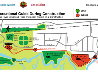 Mouse River Enhanced Flood Protection Project (MREFPP) MI-2/3 Napa Valley/Forest Road Phases Resume