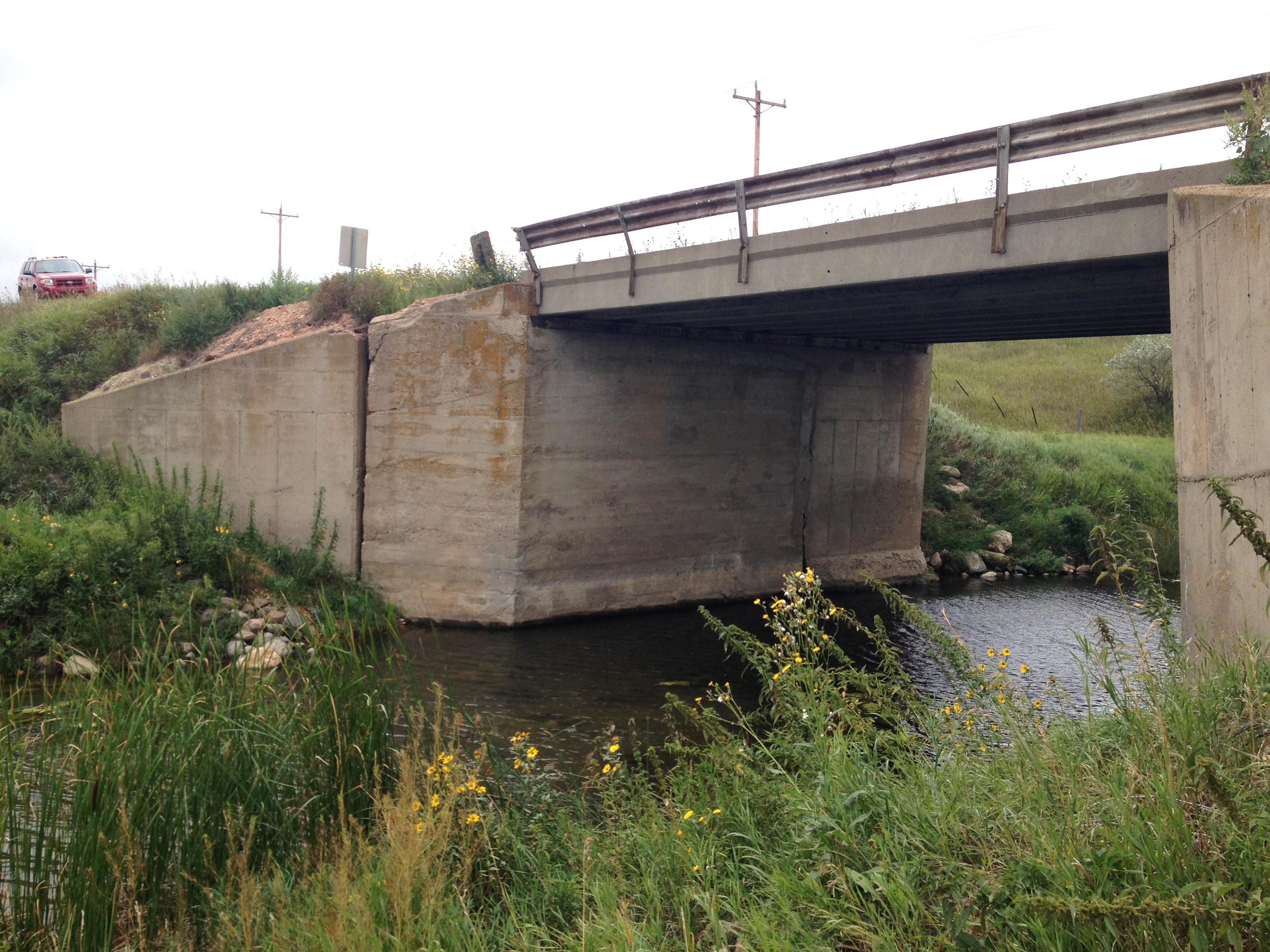 OLD CONCRETE BRIDGE