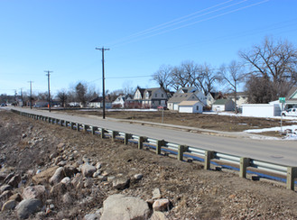 Closure of Fourth Avenue for flood protection utility and road work