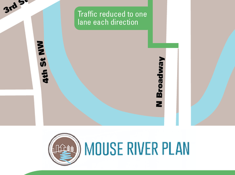Temporary lane closures on Broadway Bridge to start Monday