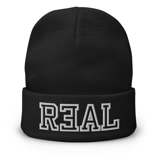 R3AL Embroidered Beanie