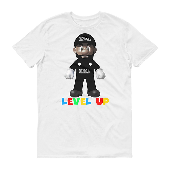 *Limited Edition* LEVEL UP T-Shirt (White)