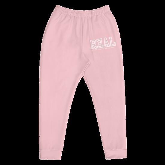 Pink Premium Unisex R3AL Joggers