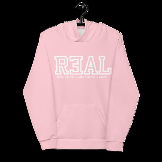Pink Premium Unisex R3AL Hoodie
