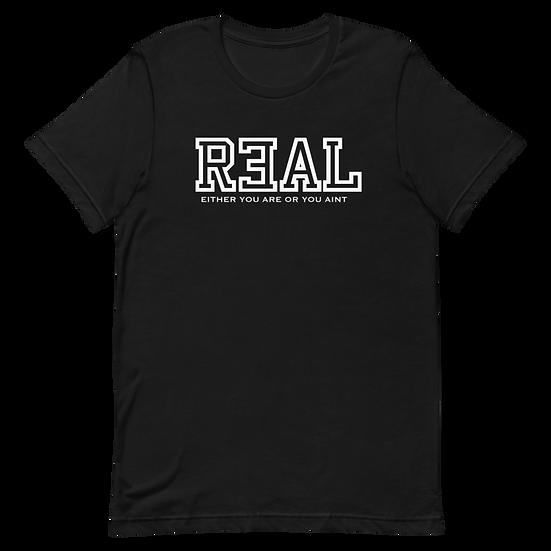 Classic R3AL Short-Sleeve Unisex T-Shirt
