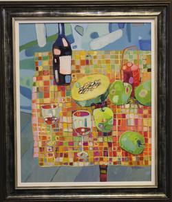 Wine, Apple & Melon