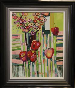 Wine, Apples & Flowers