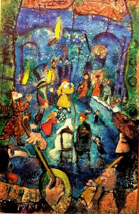 paintings by famous artist Israel Itzchak Besancon