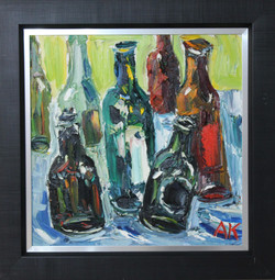 Bottles in the Studio I