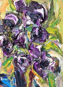 Mauve Flowers ('13)