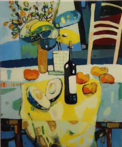 Wine, Avocado & Oranges