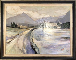 Winter Scene, Snowdonia