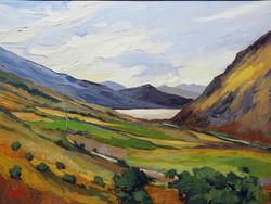 Towards Llyn Gwynant