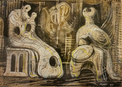 Attributed to Henry Moore ('65)