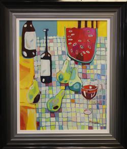 Wine, Pear & Watermelon