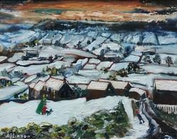 Yorkshire Landscape in Winter