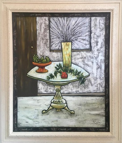 Still Life with Side Table
