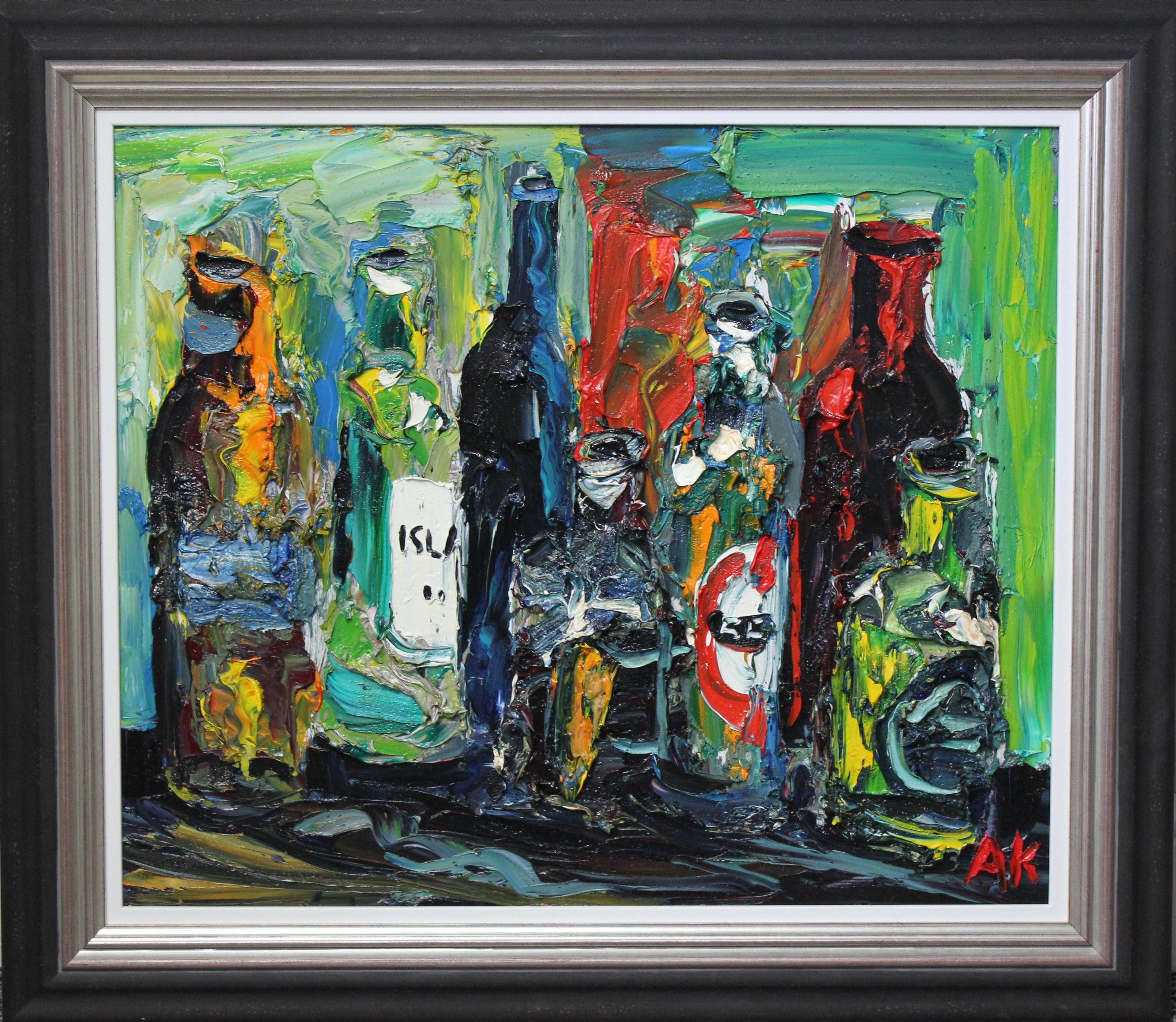 Bottles in the Studio II