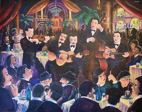 Django Reinhardt & Bro's, 20's, Paris Club