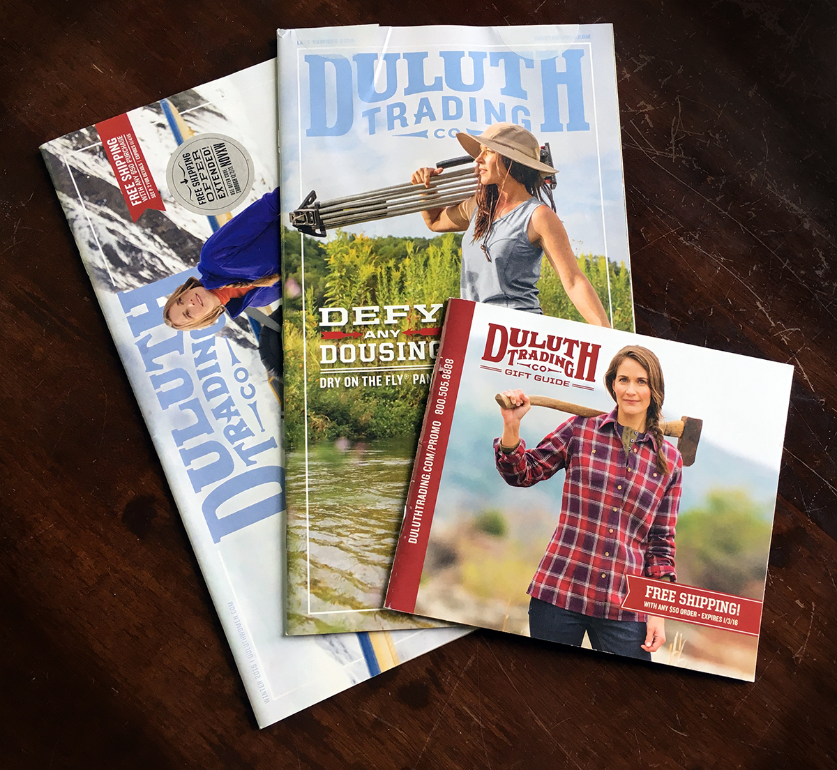 Duluth Trading Co. catalog