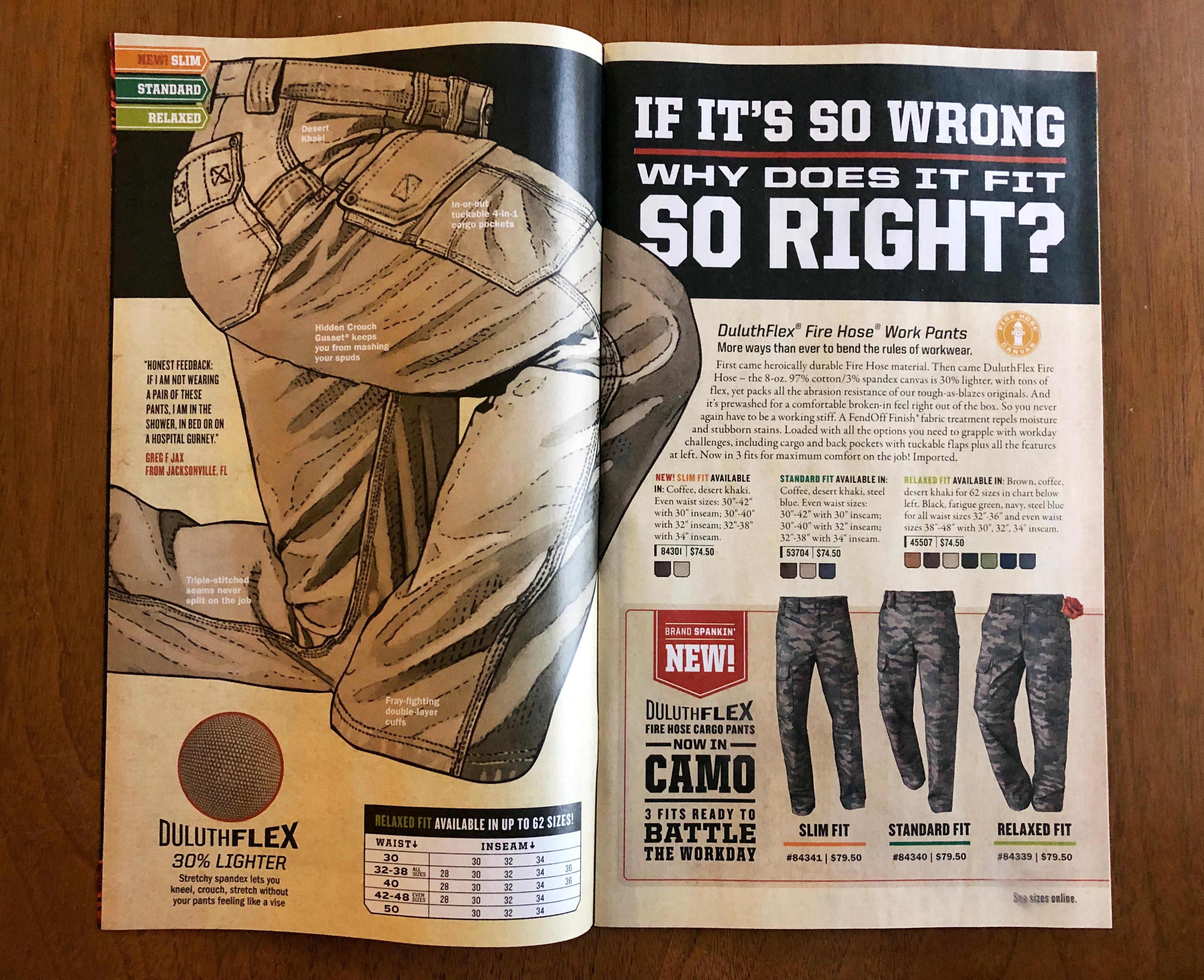 Pants Romance Campaign