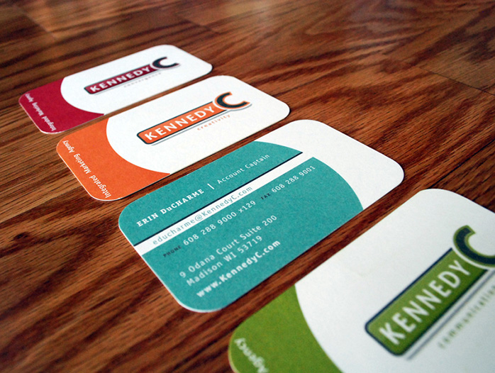 Advertising Agency Business Cards