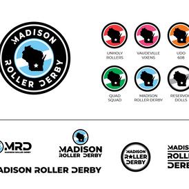 Madison Roller Derby Logo