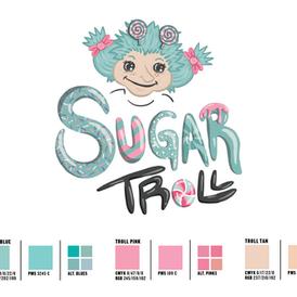 Sugar Troll Candy Shop Logo