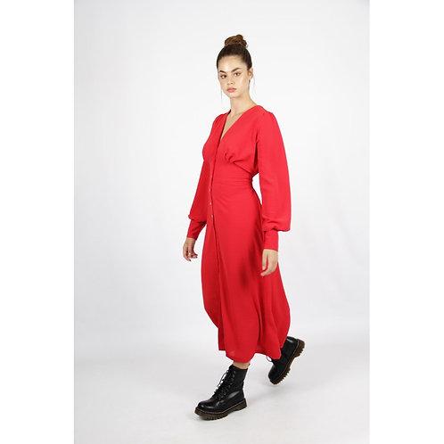 Vestido Agata rojo