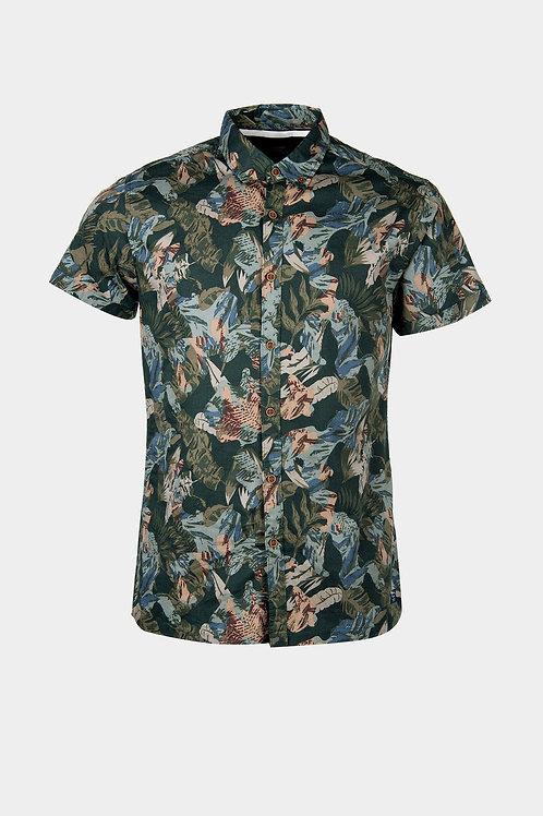 Camisa Slim Fit Tropic