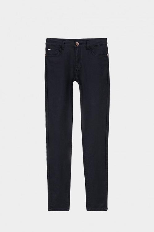 Pantalón Lauren negro encerado